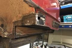 Mercedes 300SL welding repairs