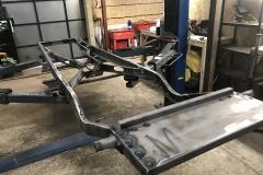 Wolseley Hornet chassis restoration