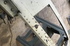 E type Jaguar restoration welding repairs