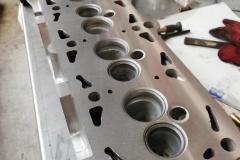 VW cylinder head skim