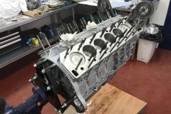 V12 engine rebuild