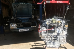 Peugeot 304 engine and gearbox rebuild