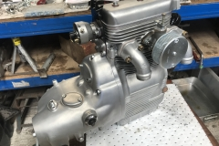 Sunbeam S8 engine rebuild after