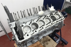 Jaguar V12 engine rebuild