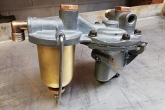 Rover 10 fuel pump and filter housing