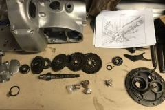 Sunbeam S8 gearbox reassambly