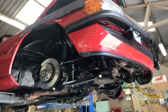 Mercedes 300SL underside