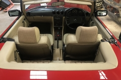 Mercedes 300SL interior