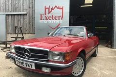 Mercedes 300SL body restoration