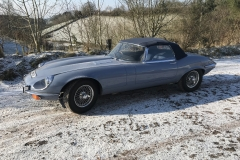 E Type Jaguar restoration