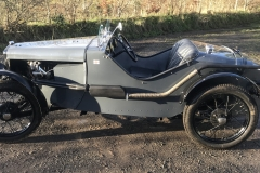 Austin 7 Ulster body exhaust manufacture