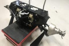 e type Jaguar final drive rebuild