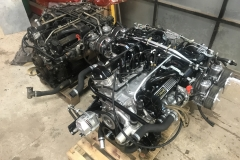 E type Jaguar engine rebuild before and after