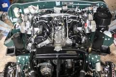 E type Jaguar engine rebuild