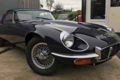 E type Jaguar series 3 V12 restoration