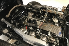 E type Jaguar series 3 V12 restoration engine bay